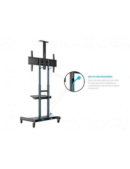 Multibrackets M Public Floorstand Basic 180 incl shelf & camera holder Multibrackets 7350073734627 - 21