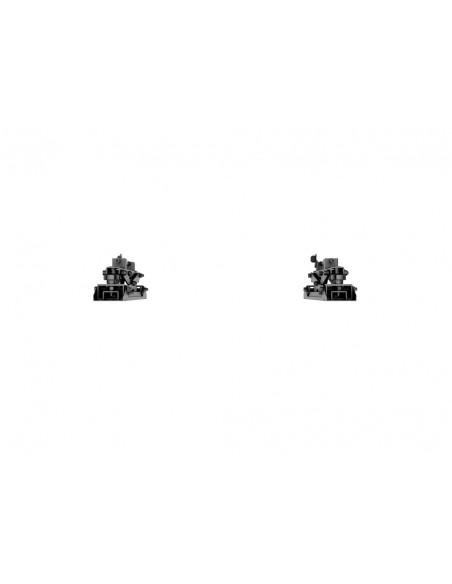 """Multibrackets 4726 kyltin näyttökiinnike 165.1 cm (65"""") Musta Multibrackets 7350073734726 - 12"""