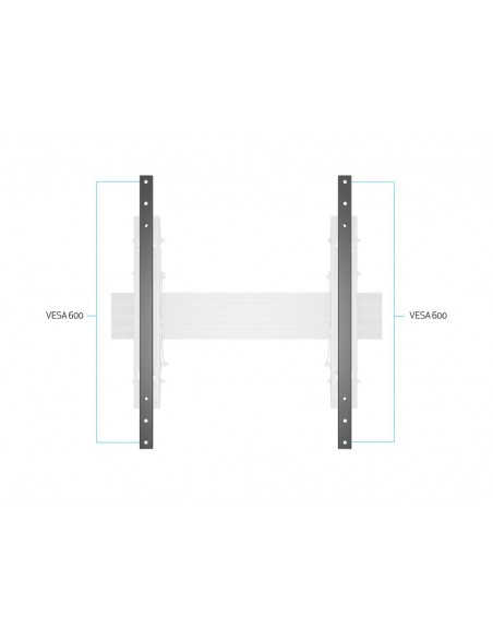 Multibrackets M Pro Series - Extender kit 600 Multibrackets 7350073734733 - 9