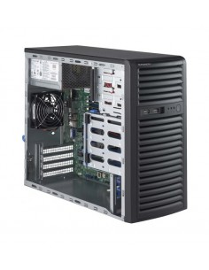 Supermicro SuperServer 5039D-i Intel® C232 LGA 1151 (pistoke H4) Midi Tower Musta Supermicro SYS-5039D-I - 1