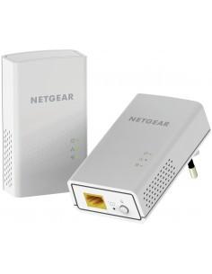 Netgear PL1000 1000 Mbit/s Nätverksansluten (Ethernet) Vit 2 styck Netgear PL1000-100PES - 1