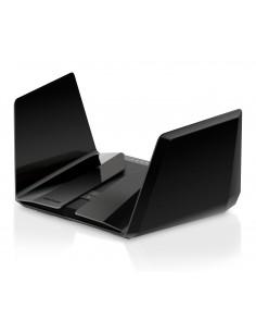 Netgear RAX200 wireless router Gigabit Ethernet Tri-band (2.4 GHz / 5 GHz) Black Netgear RAX200-100EUS - 1