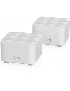 Netgear Orbi WiFi System (RBK12) AC1200 wireless router Gigabit Ethernet Dual-band (2.4 GHz / 5 GHz) White Netgear RBK12-100PES
