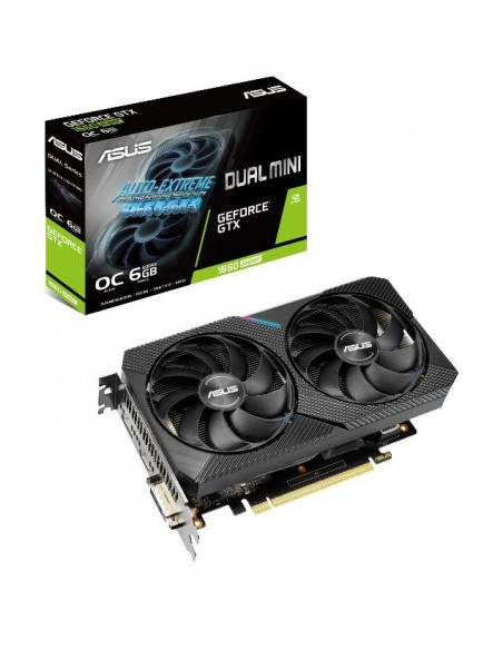 ASUS Dual -GTX1660S-O6G-MINI NVIDIA GeForce GTX 1660 SUPER 6 GB GDDR6 Asustek 90YV0DT4-M0NA00 - 11