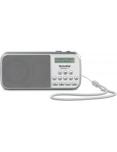 TechniSat TECHNIRADIO RDR Kannettava Analoginen & digitaalinen Harmaa, Valkoinen Technisat 0001/3922 - 1
