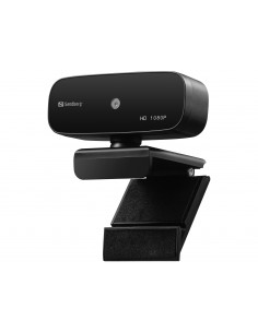 Sandberg 134-14 verkkokamera 2 MP 1920 x 1080 pikseliä USB 2.0 Musta Sandberg 134-14 - 1