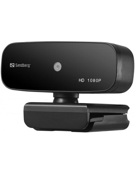 Sandberg 134-14 webbkameror 2 MP 1920 x 1080 pixlar USB 2.0 Svart Sandberg 134-14 - 2