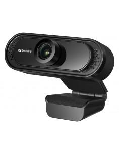 Sandberg USB Webcam 1080P Saver webbkameror 2 MP 1920 x 1080 pixlar Svart Sandberg 333-96 - 1