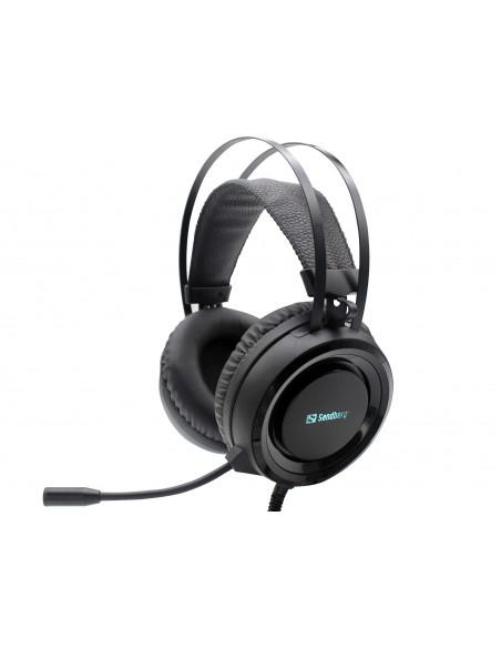 Sandberg 126-22 hörlur och headset Huvudband 3.5 mm kontakt Svart Sandberg 126-22 - 1
