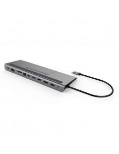 i-tec Metal C31FLATDOCKPDPLUS kannettavien tietokoneiden telakka ja porttitoistin Langallinen USB 3.2 Gen 1 (3.1 1) Type-A I-tec
