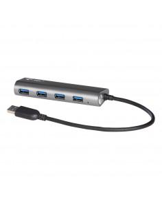 i-tec Metal U3HUB448 keskitin USB 3.2 Gen 1 (3.1 1) Type-A 5000 Mbit/s Harmaa I-tec Accessories U3HUB448 - 1