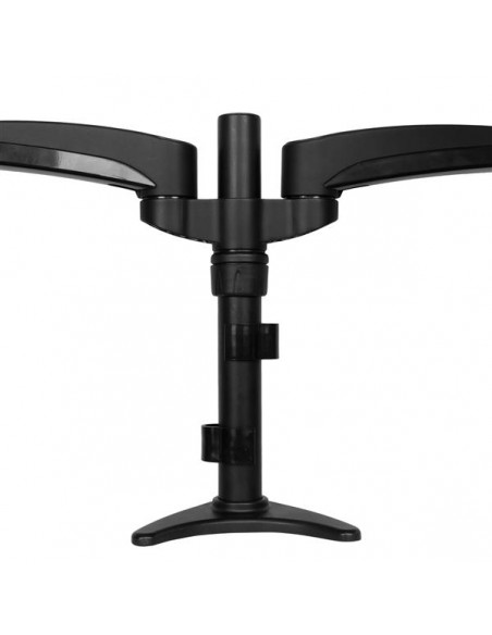 "StarTech.com ARMDUAL monitorin kiinnike ja jalusta 61 cm (24"") Puristin Musta Startech ARMDUAL - 4"