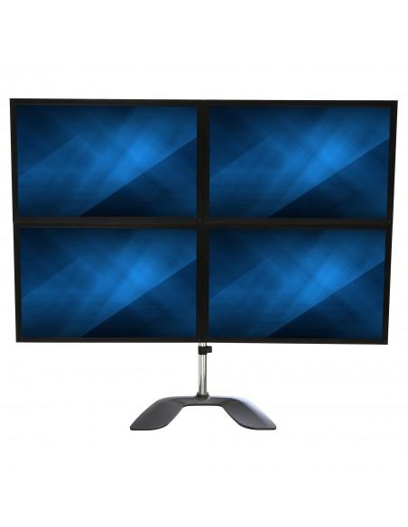 StarTech.com Quad-skärmstativ - Ledat Stål och aluminium Startech ARMQUADSS - 5