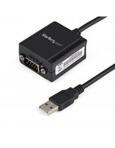 StarTech.com FTDI USB till seriell RS232-kabeladapter med 1 port och COM-retention Startech ICUSB2321F - 1