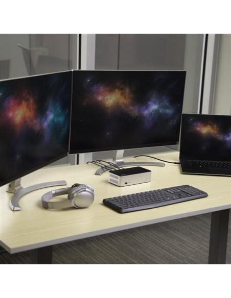"StarTech.com Dual-Monitor USB-C Dock for Windows - 2.5"" SATA SSD/HDD Bay Startech MST30C2HDPPD - 6"