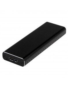 StarTech.com M.2 SSD Enclosure for SATA SSDs - USB 3.0 (5Gbps) with UASP Startech SM2NGFFMBU33 - 1