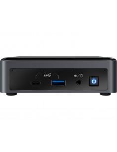 Intel NUC BXNUC10I7FNK2 PC/workstation barebone UCFF Black BGA 1528 i7-10710U 1.1 GHz Intel BXNUC10I7FNK2 - 1