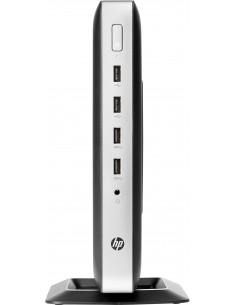 HP Cliente delgado t630 2 GHz GX-420GI Smart Zero 1.52 kg Silver Hp 2ZU95AA#AK8 - 1