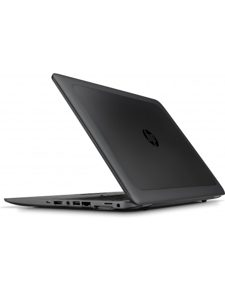 "HP ZBook 15u G4 Mobiilityöasema 39.6 cm (15.6"") 1920 x 1080 pikseliä 7. sukupolven Intel® Core™ i7 16 GB DDR4-SDRAM 256 SSD AMD"