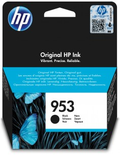 HP 953 Original Standardavkastning Svart Hp L0S58AE - 1