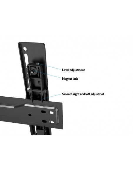 "Multibrackets 5532 tv-fäste 139.7 cm (55"") Svart Multibrackets 7350073735532 - 17"