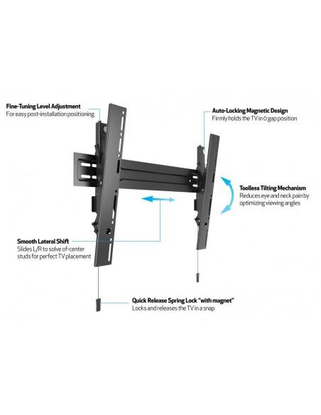 Multibrackets M VESA Wallmount Super Slim Tilt 600 MAX Multibrackets 7350073735549 - 11
