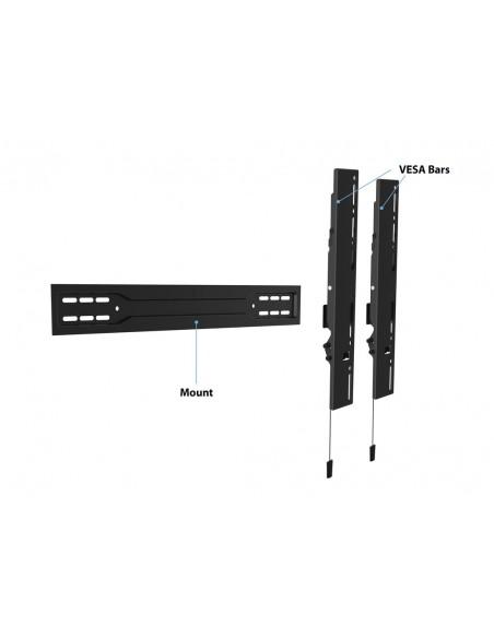 Multibrackets M VESA Wallmount Super Slim Tilt 600 MAX Multibrackets 7350073735549 - 16