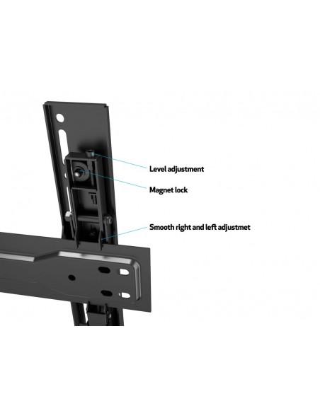 """Multibrackets 5549 TV-kiinnike 190.5 cm (75"""") Musta Multibrackets 7350073735549 - 17"""
