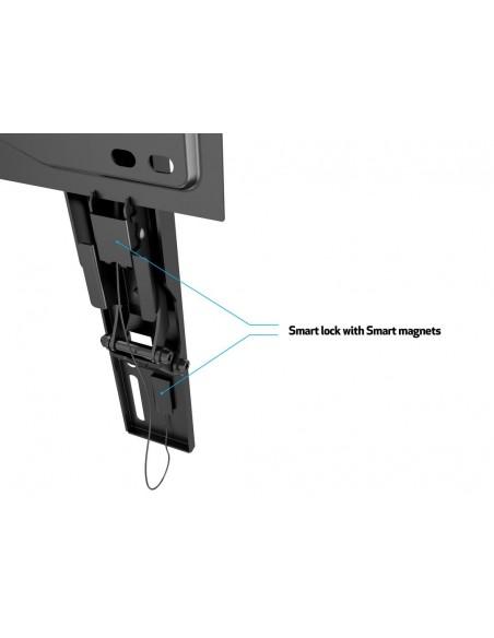 """Multibrackets 5549 TV-kiinnike 190.5 cm (75"""") Musta Multibrackets 7350073735549 - 18"""