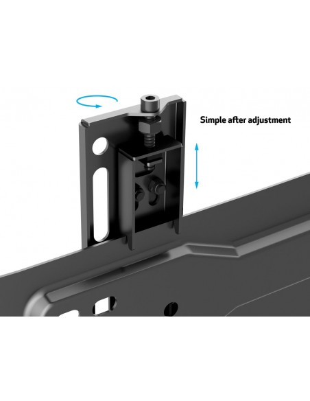 Multibrackets M VESA Wallmount Super Slim Fixed 600 MAX Multibrackets 7350073735563 - 12
