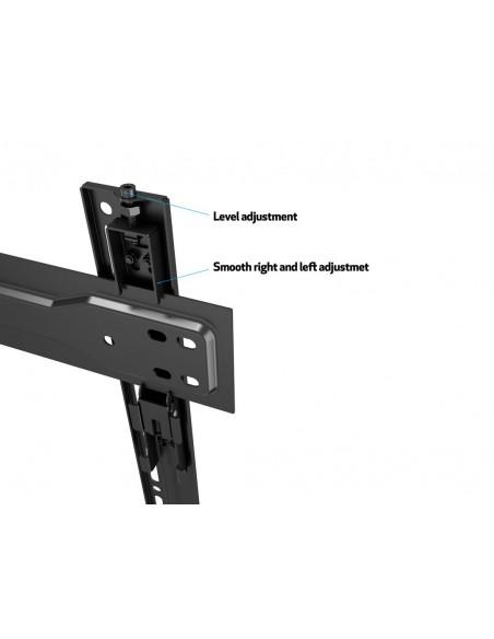 """Multibrackets 5563 kyltin näyttökiinnike 2.54 m (100"""") Musta Multibrackets 7350073735563 - 16"""