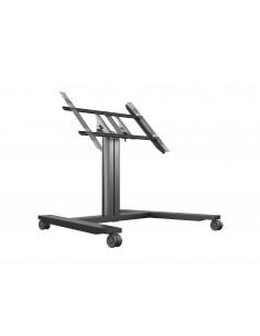Multibrackets M Public Display Stand 80 HD Wheelbase Single Black Multibrackets 7350073736812 - 1