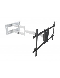 "Multibrackets 6874 tv-fäste 190.5 cm (75"") Svart, Vit Multibrackets 7350073736874 - 1"