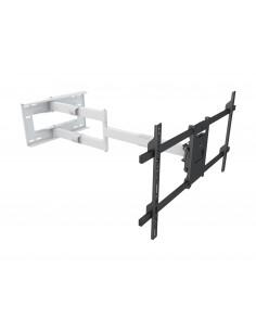 """Multibrackets 6874 TV-kiinnike 190.5 cm (75"""") Musta, Valkoinen Multibrackets 7350073736874 - 1"""