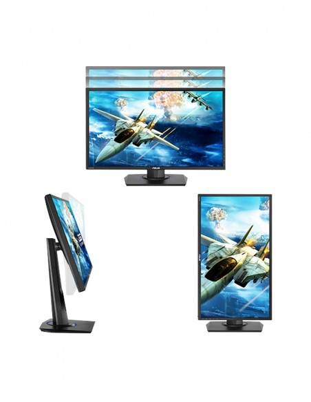 "ASUS VG245H 61 cm (24"") 1920 x 1080 pikseliä Full HD LED Musta Asus VG245H - 3"