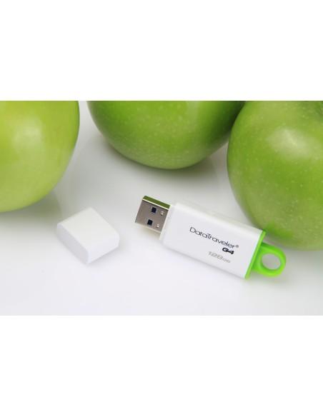 Kingston Technology DataTraveler G4 USB-muisti 128 GB USB A-tyyppi 3.2 Gen 1 (3.1 1) Vihreä, Valkoinen Kingston DTIG4/128GB - 11