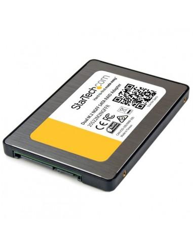StarTech.com Dual M.2 NGFF SATA Adapter with RAID Startech 25S22M2NGFFR - 1