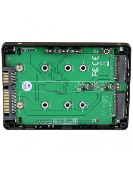 StarTech.com Dual M.2 NGFF SATA Adapter with RAID Startech 25S22M2NGFFR - 3