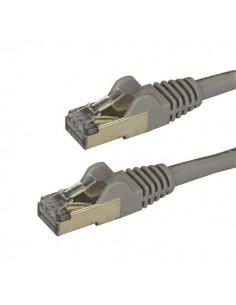 StarTech.com Cat6a Ethernet-kabel - skärmad (STP) 3 m, grå Startech 6ASPAT3MGR - 1