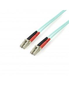 StarTech.com A50FBLCLC2 valokuitukaapeli 2 m LC OM3 Turkoosi Startech A50FBLCLC2 - 1