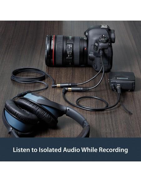 StarTech.com MUY1MFF audiokaapeli 0.15 m 3.5mm 2 x Musta Startech MUY1MFF - 7