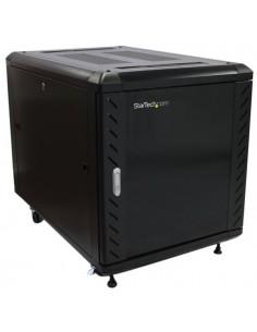 "StarTech.com 12U 36"" nedmonterbart serverskåp med hjul Startech RK1236BKF - 1"