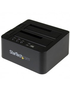 """StarTech.com USB 3.1 (10Gbps) Standalone Duplicator Dock for 2.5"""" & 3.5"""" SATA SSD/HDD Drives - with Fast-Speed Duplication up St"""