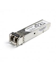 StarTech.com Juniper SFP-1FE-FX Compatible SFP Module - 100BASE-FX 100MbE Multimode Fiber MMF Optic Transceiver 100Mb Ethernet S