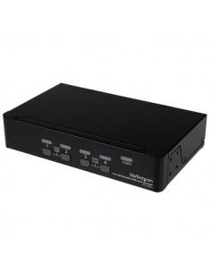 StarTech.com USB DisplayPort KVM-switch med 4 portar och audio Startech SV431DPUA - 1
