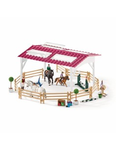 Schleich Horse Club Riding school with riders and horses Schleich 42389 - 1