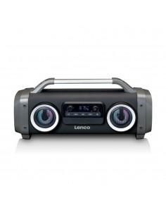 Lenco SPR-100 Kannettava stereokaiutin Harmaa Lenco SPR-100 - 1