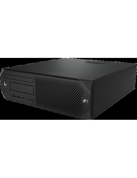 HP Z2 SFF G4 i7-8700 8:e generationens Intel® Core™ i7 8 GB DDR4-SDRAM 1000 HDD Windows 10 Pro Arbetsstation Svart Hp 4RW91EA#UU