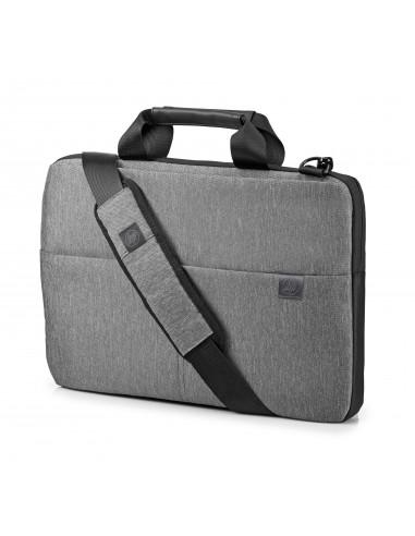 """HP 39.62 cm (15.6"""") Signature Slim Topload Case laukku kannettavalle tietokoneelle 39.6 Salkku Harmaa Hp L6V68AA#ABB - 1"""