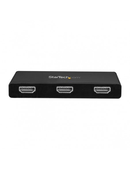 StarTech.com MSTCDP123HD USB grafiikka-adapteri 3840 x 2160 pikseliä Musta Startech MSTCDP123HD - 2